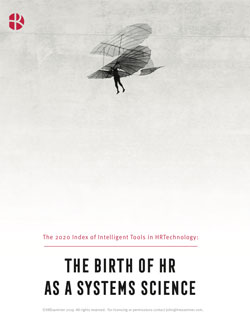Cover for The 2020 Index of Intelligent Tools in HR Technology