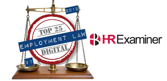 Top 25 Online Influencers in Employment Law ~ HRExaminer v3.28 for July 13, 2012