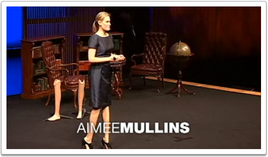 Aimee Mullens, Athlete, actor & activist Aimee Mullins talks about her prosthetic legs (all 12 of them)