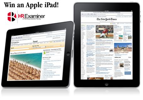 Win an Apple iPad in HRExaminer's Blank Slate Challenge