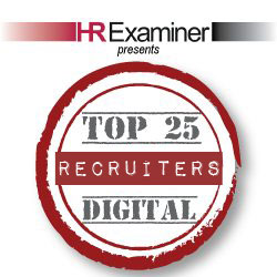 HRExaminer Top 25 Digital Recruiters