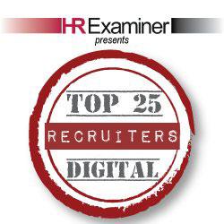 HRExaminer Top 25 Digital Recruiters