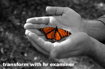 Transform HR with HR Examiner issue cover for August 20, 2010 v1.29
