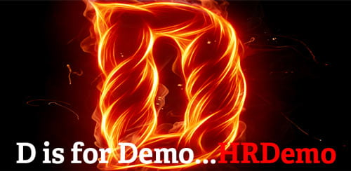 D is for Demo - HRDemo