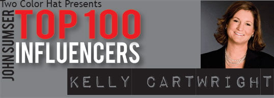 Top 100 Influencer Kelly Cartwright