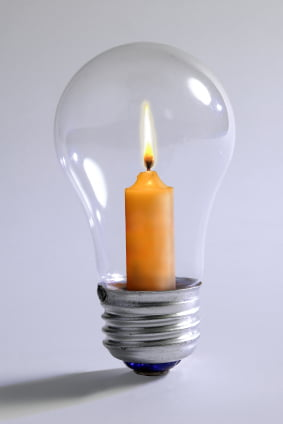 Light Bulb Not Candle