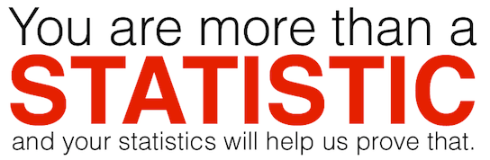 You are more than a statistic