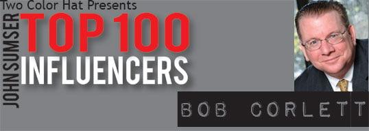 Bob Corlett, Top 100 Influencer on HRExaminer