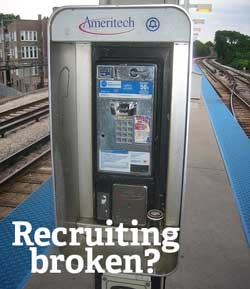 Is recruiting broken? HRExaminer Photo Credit compujeramey on Flickr.com