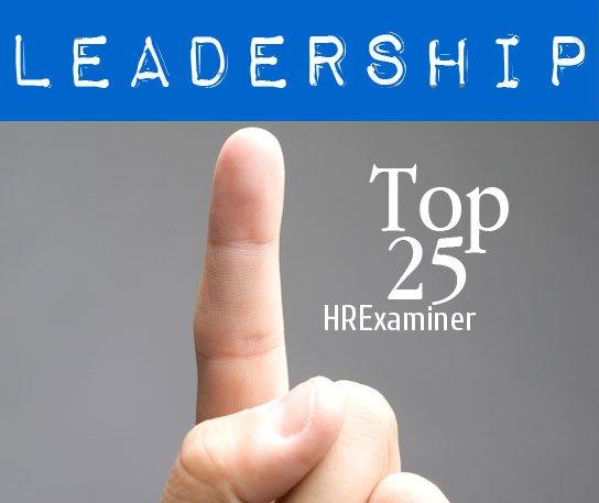 Top 25 Online Influencers in Leadership v3 2011 HRExaminer
