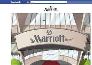 Marriott Facebook Employer Branding App