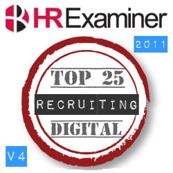 HRExaminer Top 25 Online Influencers in Recruiting v4 August 24, 2011