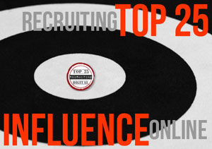 HRExaminer Top 25 Online Influencers in Recruiting for August 24, 2011