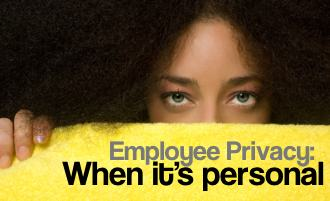 picture: employee privacy: when it's personal