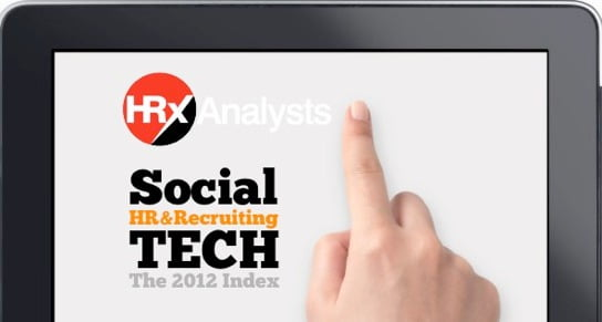 The 2012 Index of Social Technology in HR and Recruiting
