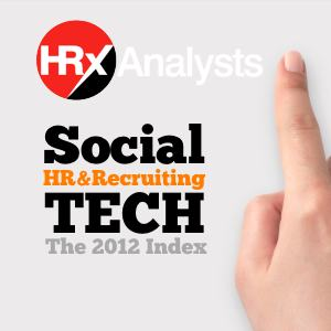 HRxAnalysts.com 2012 Index Social Technology in HR and Recruiting