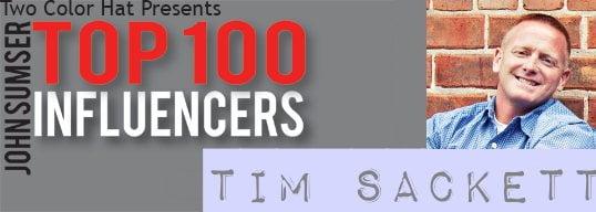 Top 100 Influencer Tim Sackett v0.00 January 23, 2012