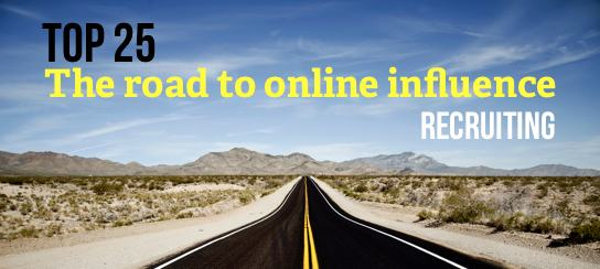 Top 25 List for Internet Influence in Recruiting ~ HR Examiner Weekly Edition