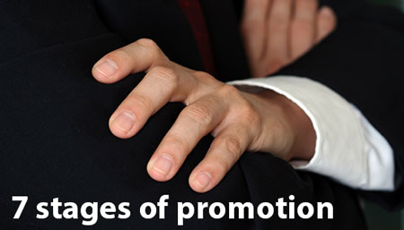 7 Stages of Promotion HRExaminer Feature for June 21, 2013 v4.24