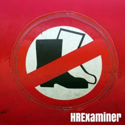 photo icon of boots walking with no symbol across them on hrexaminer post about Fitness, Inclusions and OracleHCM