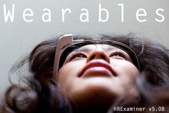 photo of woman wearing google glass feature image HR Examiner v5.08 for February 28, 2014