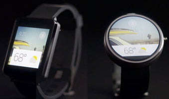 picture example of google now watch concept in wearables