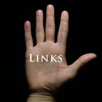 image of hand over black background with word links on hand - hrexaminer.com 5 links for may 28, 2014