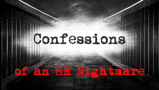 image of confessions of an HR nightmare feature with cnet author dennis o'reilly hr examiner may 9, 2014 v5.18
