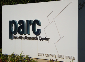picture of xerox parc sign taken by Hugo Pardo Kuklinski on flickr CC BY 2.0