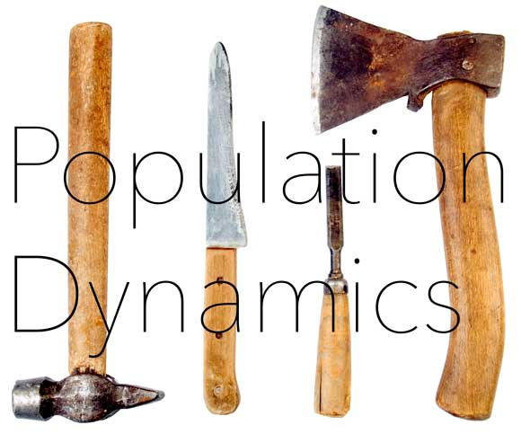 photo of old hand tools in hrexaminer.com article by John Sumser callled Population Dynamics