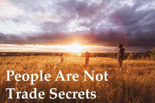 photo by Jordan McQueen on feature article of HRExaminer v6.17 May 8, 2015 People are not trade secrets.