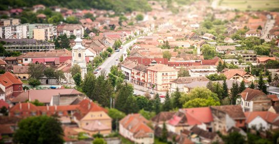 regional tilt shift town by David Marcu appearing on HRExaminer.com weekly edition v6.26 published 2015-07-10