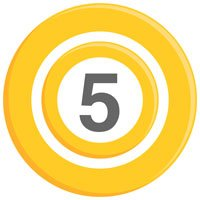 5 links post on HRExaminer with graphic of yellow circles and numeral 5 in center