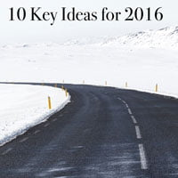 photo of winter road and snow capped mountains in photo by Jon Ottosson cc0 in HRExaminer.com feature article by John Sumser 10 key ideas for 2016