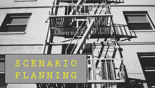 2017-04-10 hrexaminer scenario planning photo img cc0 via pexels fire escape stairs black and white fire escape fire ladder by jaymantri full crop 544x309px.jpg