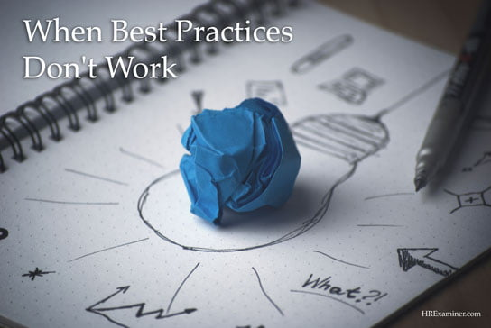 2017-06-26 HRExaminer when best practices dont work photo img cc0 via pexels abstract idea clay think original creative mold pen idea bulb paper 544x364px.jpg