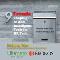 2020-02-21 HR Examiner weekly ed v1060 Ultimate Software Kronos Merger plus 9 Trends Shaping AI and Intelligent Tools in HR Tech photo img cc0 by photo 1529267605921 4b6cc01165a3 200px.jpg