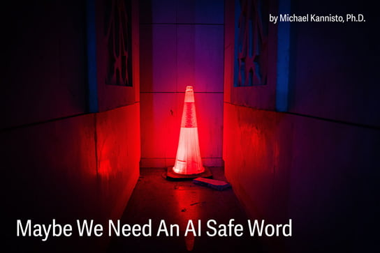 2020-04-14 HR Examiner article Mochael Kannisto PhD Maybe We Need An AI Safe Word stock photo img cc0 by redrecords red led traffic cone 2743739 544x363px.jpg