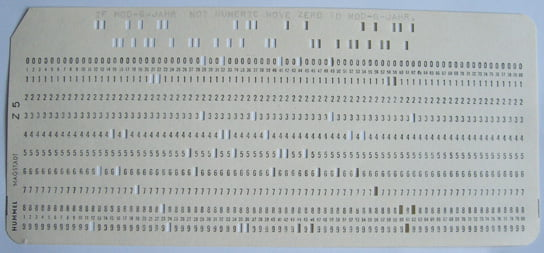 2020-05-05 HR Examiner article The Curious Persistence of Technology by Michael R Kannisto PhD photo img by Rainer Gerhards Punch card cobol via wikipedia cc by 30 license 544x253px.jpg
