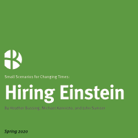 2020-06 05 Hr Examiner Weekly Edition V1075 Hrx Small Scenarios 5 Hiring Einstein During Coronavirus Pandemic By Sumser Bussing Kannisto 200px.png