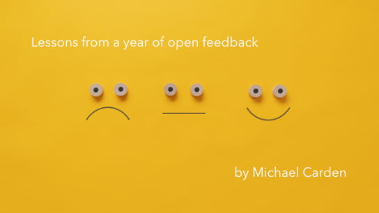 2020-08-03 HR Examiner article Lessons from a year of open feedback by Michael Carden AdobeStock 324828936 544x306px.jpg